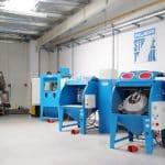 maszyny przemysłowe w firmie